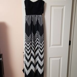 Women's Trixxi Strapless Maxi Dress NWOT